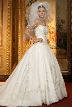 eve of milady wedding gowns | Eve of Milady - 1401 | Wedding Dresses Photos | Brides.com