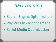 DakshaSEO offers best training program in Chandigarh for Search Engine Optimization. Our professional and expert trainer will assist you to learn SEO ideas, techniques and methods and the best ways to accomplish acquire 1st page positions in search engine ranking.