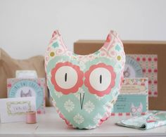 tooting owl beginners craft kit by lou brown designs | notonthehighstreet.com
