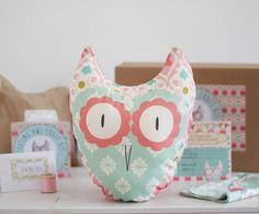 tooting owl beginners craft kit by lou brown designs | notonthehighstreet.com