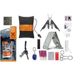 GOTOBUYWORLD Bear Grylls Gerber Ultimate 16 Piece Complete Emergency Survival Knife Kit * More info could be found at the image url.