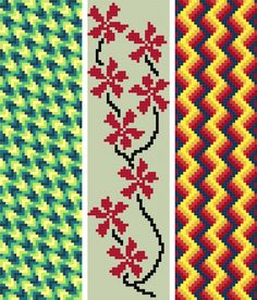 Here are 3 patterns for abstract style bookmarks. A good book is worthy of a beautiful bookmark. Cross Stitch Bookmarks, Cross Stitch Kits, Cross Stitch Designs, Cross Stitch Patterns, Crochet Patterns, Cross Stitching, Cross Stitch Embroidery, Unicorn Cross Stitch Pattern, Brick Stitch