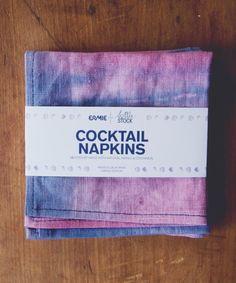 Linen Cocktail Napkins | Little Paper Planes