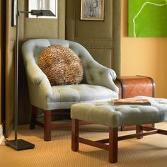 Bunny Williams Home T42 Chair. Found at Layla Grayce.