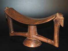 Dinka - Audouin Headrests Appuie-nuque African Headrest Neckrest | Archives