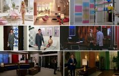 "Down with Love (2003) is most celebrated for its style and cotton-candy depiction of a pre-sexual revolution era. Its set designs are ""deliberately fake"" and meant to look not like early-sixties New York but, rather, a Hollywood version of early-sixties New York. Color and scale are exaggerated with the intent of making design a larger-than-life character in the film."