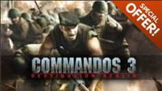 FREE Commandos 3: Destination Berlin PC Game Download on http://www.icravefreebies.com