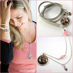 Ensemble Nostalgia Washer Necklace, Nostalgia, Hoop Earrings, Bracelet, Jewelry, Necklaces, Silver, Locs, Bead
