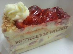 Strawberry gateaux... lovely!