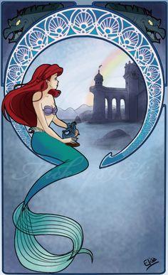 Mucha's Ariel