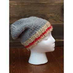 Tuque style bas de laine classique