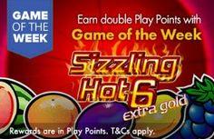 GROSVENOR UK CASINO - Game of the Week - SIZZLING HOT 6!! - UK Casino List