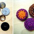 Dig out your big but boring buttons and transform them into colorful crocheted fasteners. How to -- crochet buttons