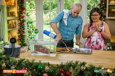 Sous Vide Holiday Roast using the Nomiku kitchen gadget! Catch #homeandfamily weekdays at 10/9c on Hallmark Channel!