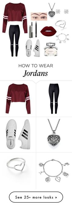 """Arriving at beacon hill"" by npaul6 on Polyvore featuring adidas, NARS Cosmetics, Lime Crime, MAC Cosmetics, Gucci, Jordan Askill, Love This Life and Betteridge"