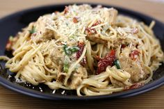 Cajun Chicken Pasta- I want to make this the next time I want food with a little kick!
