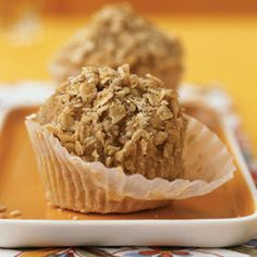 The whole wheat flour and oatmeal in these Banana Nut Muffins offer whole grains. The prudent amount of walnuts adds fiber, vitamin E,...