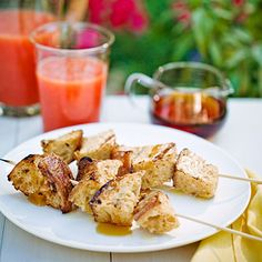 Grilled French Toast Kebabs