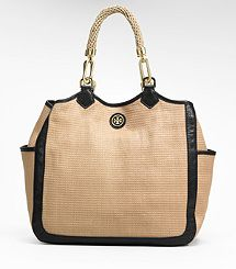 STRAW CHANNING TOTE..Love this for summer!!