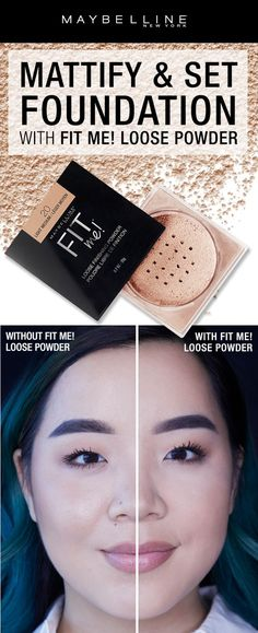 Want to control your oily skin to make sure your makeup lasts all day? NEW Fit Me! Loose Powder mattifies and sets foundation for longwear results that last all day with a hint of color. Click through to shop the product!
