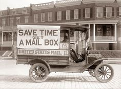 Save Time Get a Mail Box :) ~ Delivered right to your door. Love it!