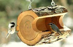 деревъяные кормушки для птиц