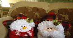 santa y nieve estrella Christmas Town, Felt Christmas, Christmas Snowman, Christmas Ornaments, Christmas Applique, Christmas Sewing, Christmas Cushions, Homemade Crafts, Xmas Decorations