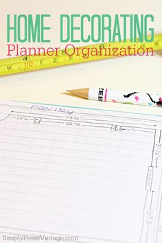 home decorating planner