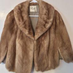 Vintage Roselli Originals Milan Paris Fur Cape Jackets & Coats - Vint Mink (?) Roselli Original Milan Paris FurCape