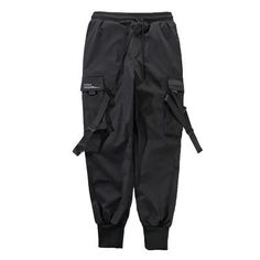 Buy now men's combat joggers in our online store The-Casual. Cargo pants on the feet comfortable pockets with adjustable straps. Harem Pants Men, Jogger Pants, Cargo Pants, Slim Fit Joggers, Hip Pop, Fashion Joggers, Black Pants, Street Wear, Men Street