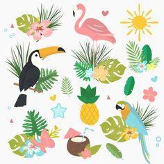 Notebook Rosa, Free Vector Images, Vector Free, Pineapple Wallpaper, Azul Tiffany, Tropical, Free Cartoons, Textured Wallpaper, Cartoon Images
