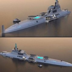 Migaloo Submersible Yacht Concept designed by Motion Code. Jet Ski, Jet Privé, Yacht Design, Boat Design, Yacht Boat, Speed Boats, Power Boats, Private Jet, Submarines