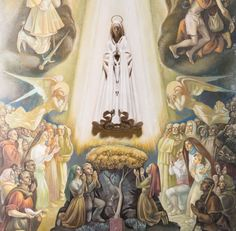 Saint Josemaria and Our Lady of Fatima - Opus Dei San Josemaria, St John Paul Ii, Juan Pablo Ii, Praying The Rosary, Lady Of Fatima, Bride Of Christ, Eucharist, Holy Mary, Blessed Virgin Mary