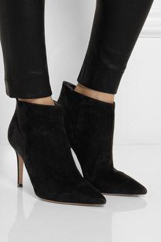 a6c2846d6ce01 GIANVITO ROSSI Designer Boots, Designer Clothes Sale, Discount Designer  Clothes, Black Booties,