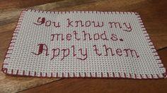 Sherlock cross stitch extra by zzdia