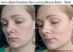 Avon Ideal Flawless Skin Dream BB cream #review and #swatches via @beautybymissl