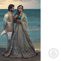 Magnificent Bridal Wear By Elan Elan presenting glamours bridal wear collection 2017 in marvel designs and elegant embroidery pattern with Pakistani Couture, Pakistani Bridal Dresses, Elan Bridal, Beautiful Bridal Dresses, Wedding Dresses, Bridal Dress Design, White Bridal, Bridal Collection, Indian Fashion