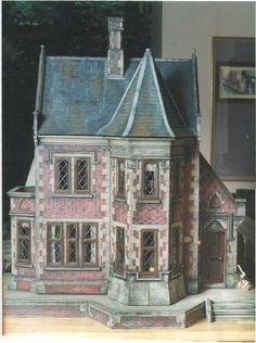 Gorgeous revival dollhouse!