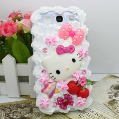 3D Bling Sweet Ice Cream Kitty Bow Cake Hard Case Cover For Samsung Galaxy S3 SIII I9300 -  http://www.amazon.com/gp/product/B00HM1FPDM?ie=UTF8&camp=1789&creativeASIN=B00HM1FPDM&linkCode=xm2&tag=casuarioscom-20