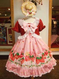 lolita strawberry lolita dress japanese