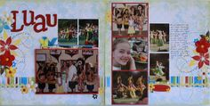 Sketch artisit Allison Davis , who runs Scrapbook Generation with her mom, is doing an open call for Creative Team members for her new we. Scrapbook Page Layouts, Scrapbook Pages, Scrapbooking Ideas, Go Hawaii, Scrapbook Generation, Layout Inspiration, Sweet Life, Luau, Projects To Try