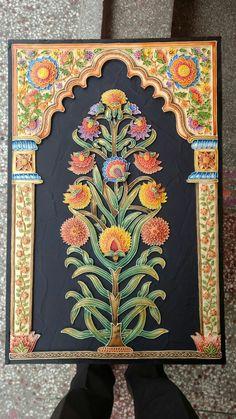 Art Painting, Mural Painting, Persian Art Painting, 3d Relief Art, Marble Art, Mural Art, Relief Sculpture, Art Village, Mural Wall Art