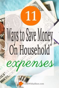 Budget | Saving Money | Reducing Expenses | You CAN save money on every day expenses and tighten down your budget. Click through to see all the ways to SAVE money! | Cook With a Shoe