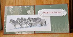 Wolf Country Birthday by Dockside - Cards and Paper Crafts at Splitcoaststampers