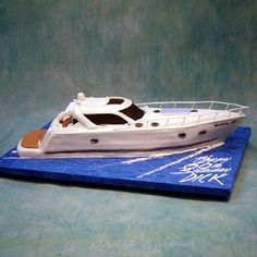 Big Yacht - Boats / Ships / Sea - 3D Cakes