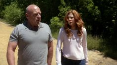 "Big Jim + Julia Under The Dome Season 3 Episode 5 ""Alaska""."