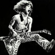 """VANTASTIK PIK OF EDDIE VAN HALEN DURING VAN HALENS 1984 TOUR!"" #evh #eddievanhalen #alexvanhalen #diamonddave #davidleeroth #michaelanthony #Vintage #Klassik #Classic #Rock #Music #History #1980s #1984 #Vantastikhistory #Vantastik #VanHalen #vanhalenhistory"