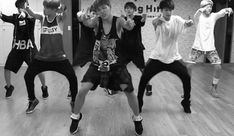 bts dancing gif | gif gifs dance bts Ot7 choreography choreo jin danger dance practice ...
