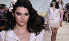 Kendall Jenner takes the catwalk at Diane Von Furstenberg's NYFW show