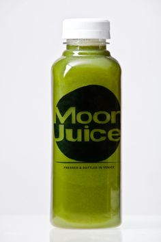 Moon Juice - cold pressed juice - delicious. I love this shop on Rose Ave, Venice. Green Goddess.